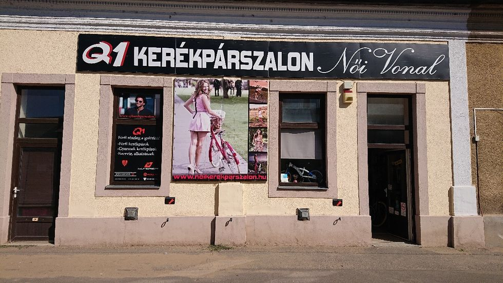 Q1 kerékpárszalon Nyíregyháza Bethlen Gábor u.57.