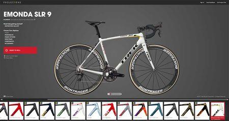 Egyedi kerékpár projectone