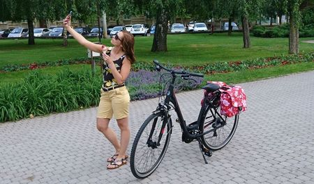 Winora trekking kerékpár