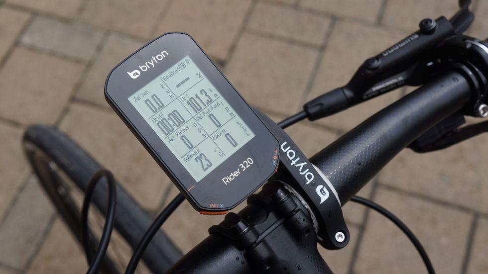 Bryton Rider GPS kerékpárra