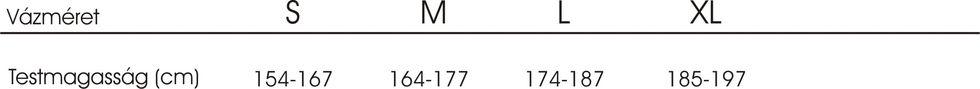 Trek Dual Sport mérettáblázat