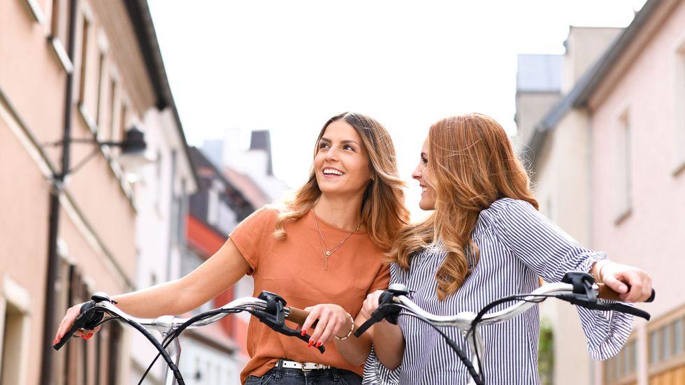 Női kerékpár nyereg