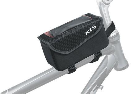 Kerékpár váztáska telefontartóval