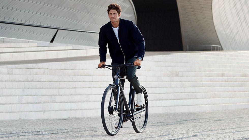 Férfi kerékpár városi