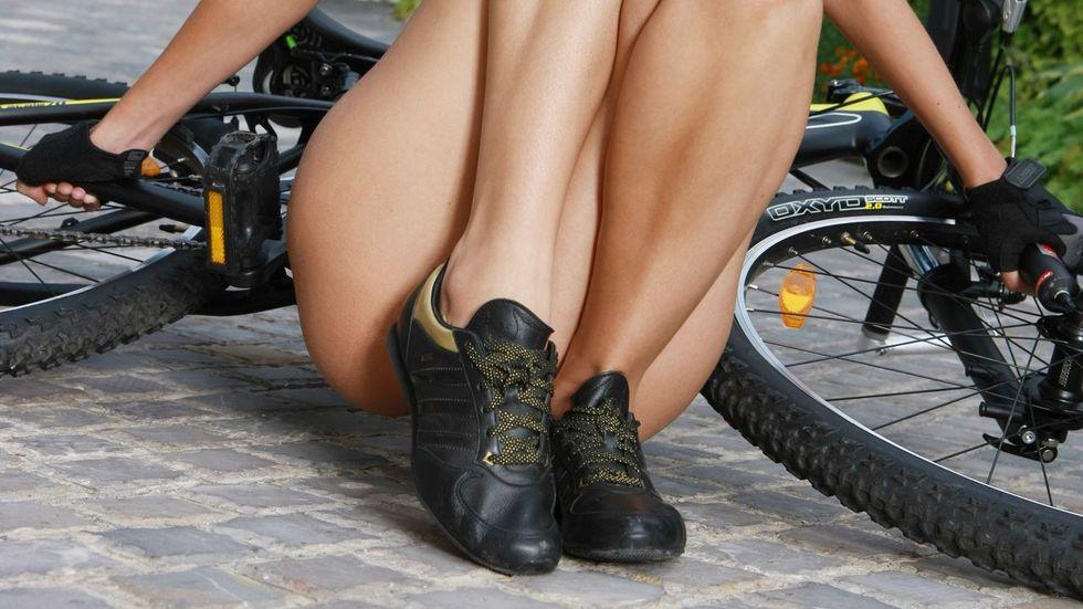 Kerékpáros cipők hölgyeknek
