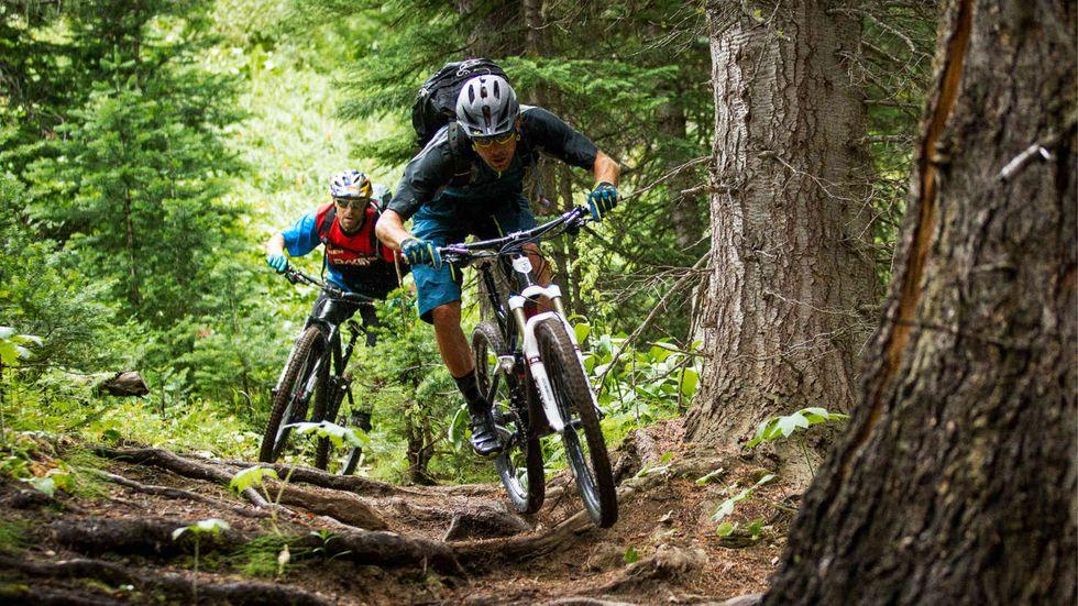 Fully MTB kerékpár